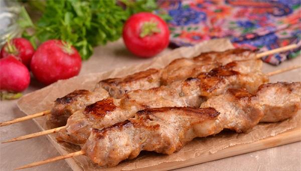 Шашлык в духовке из свинины